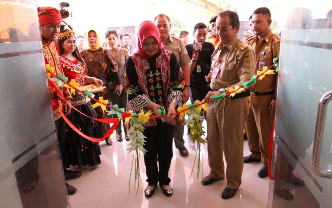 Peresmian Gedung Baru Kantor Balai Besar TN Lore Lindu