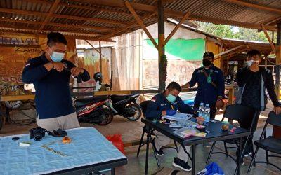 Kegiatan Uji Balistik Senjata Api Balai Besar Taman Nasional Lore Lindu