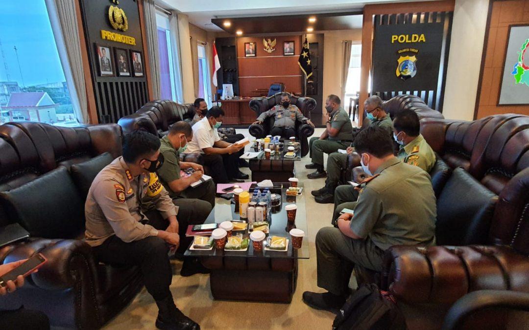 Audiensi Kepala Balai Besar TN Lore Lindu dengan Kapolda Sulawesi Tengah