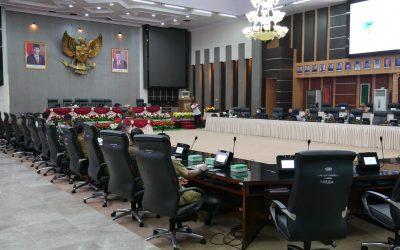 Rapat Dengar Pendapat di DPRD Provinsi Sulawesi Tengah terkait Penanganan PETI